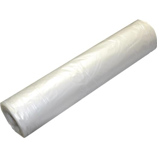 Grip Rite 20 Ft. X 100 Ft. String Reinforced Poly Film Clear 6 Mil. Plastic Sheeting