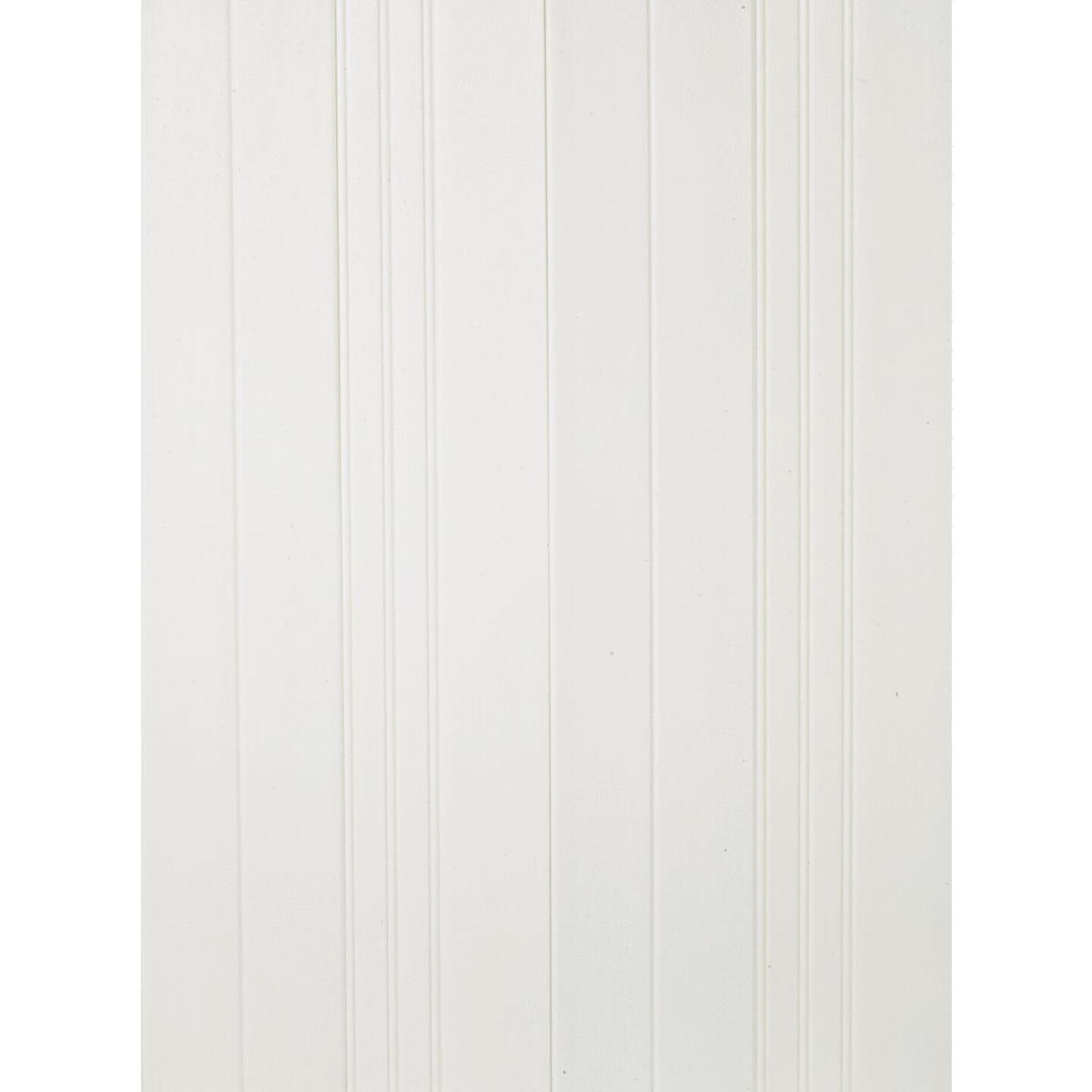 Plas-Tex PolyMAX 6 In. W. x 1/4 In. H. x 36 In. L. White Wainscot Planks (6-Pack) Image 7