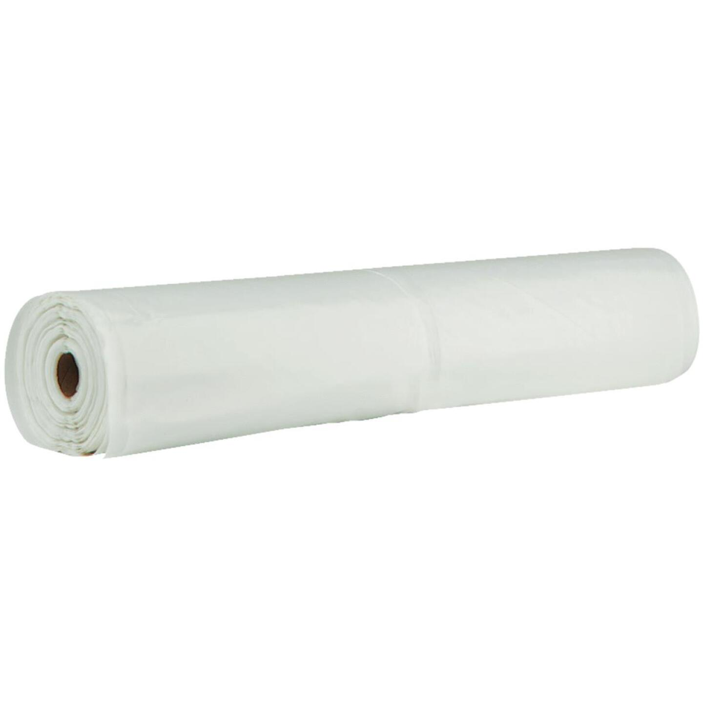 Film-Gard 16 Ft. x 50 Ft. Clear 4 Mil. Polyethylene Sheeting Image 1