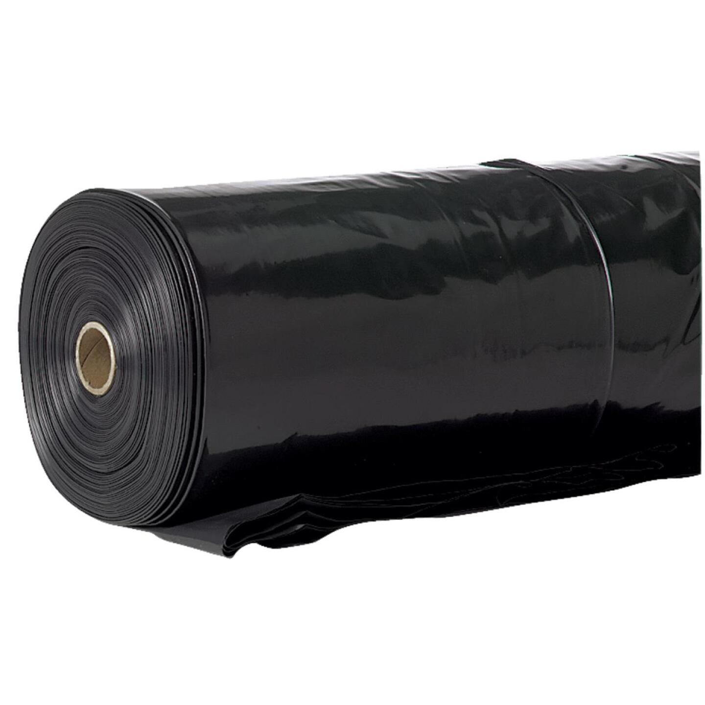 Film-Gard 20 Ft. X 100 Ft. Black 10 Mil. Polyethylene Sheeting Image 1