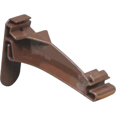 Amerimax 5 In. Traditional K-Style Brown Vinyl Hidden Gutter Hanger