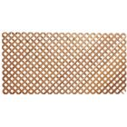 Real Wood Products 4 Ft. W. x 8 Ft. L. x 3/4 In. Thick Natural Cedar Privacy Diamond Lattice Panel Image 2