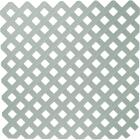Dimensions 4 Ft. W x 8 Ft. L x 3/16 In. Thick Paintable Vinyl Privacy Lattice Panel Image 1