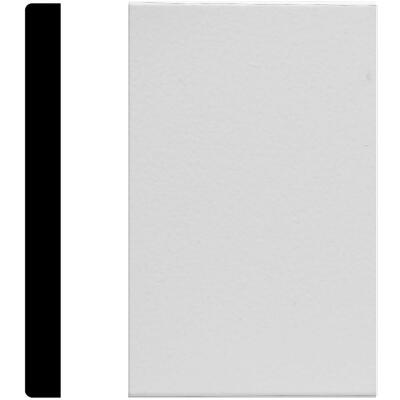 House of Fara 1/2 In. W. x 5-1/2 In. H. x 8 Ft. L. White MDF Mullion Base Molding