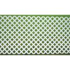 Dimensions 4 Ft. W x 8 Ft. L x 1/8 In. Thick White Vinyl Lattice Panel Image 2