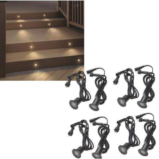 Deckorators 8-Light LED Low Voltage Recessed Light Kit