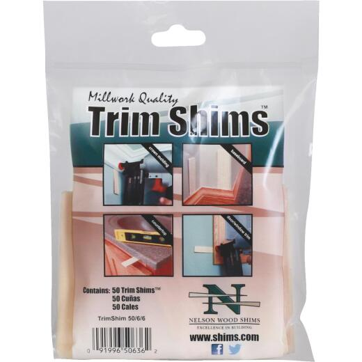Nelson Wood Shims 3.5 In. L. Trim Shim (50-Count)
