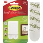 Command 3/4 In. x 2-3/4 In. White Interlocking Picture Hanger (4 Count) Image 1