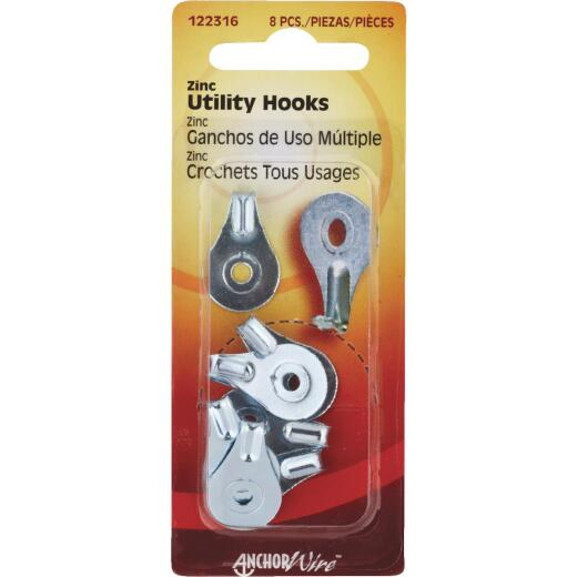 Hillman Anchor Wire Utility Hanger (8 Count)