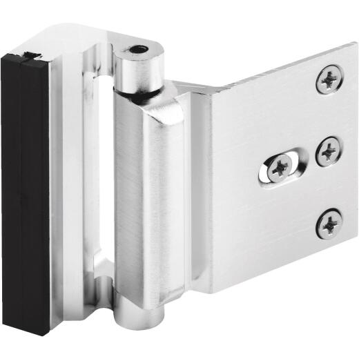 Defender Security Chrome High Security Door Reinforcement Lock