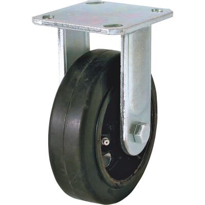 Shepherd 6 In. Medium-Heavy-Duty Polypropylene Rigid Plate Caster
