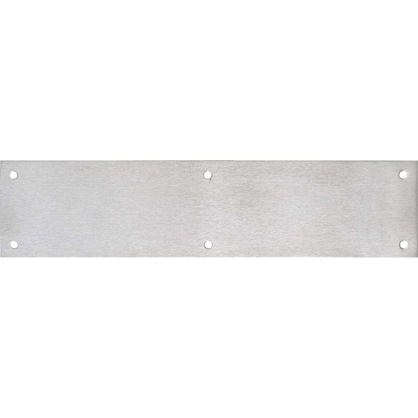 Tell 3.5 In. x 15 In. Stainless Steel Push Plate Image 1