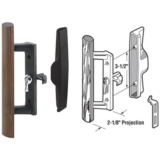 Prime-Line Internal Lock Sliding Patio Door Handle Set