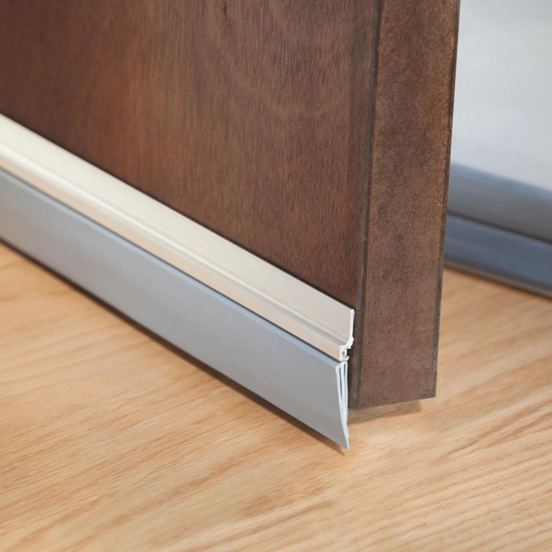 """M-D 36"""" Silver Door Bottom Weatherstrip Replacement Image 2"""