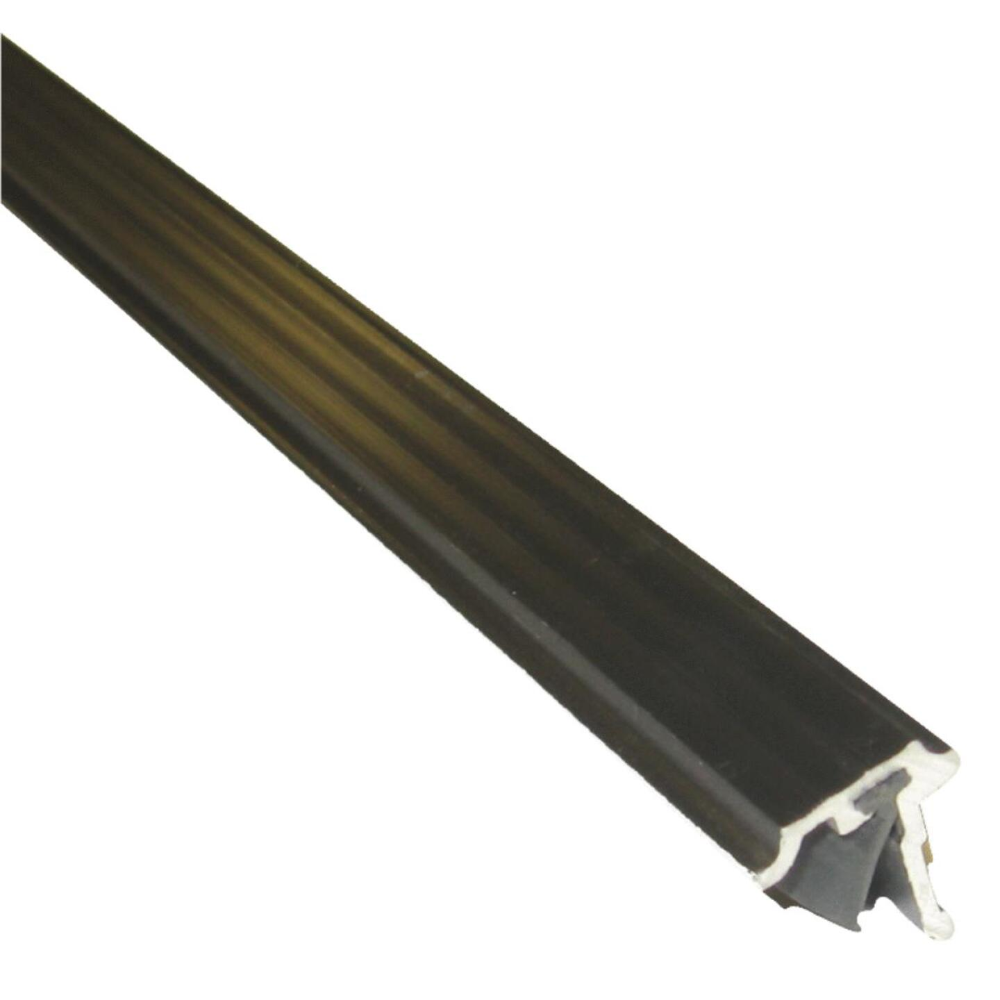 M-D Ultra 3/4 In. x 7 Ft. Bronze T-Astragal Nail-on Door Weatherstrip Image 1