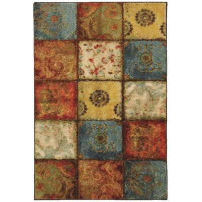 Mohawk Home Artifact Multi-Panel 5 Ft. x 8 Ft. Area Rug