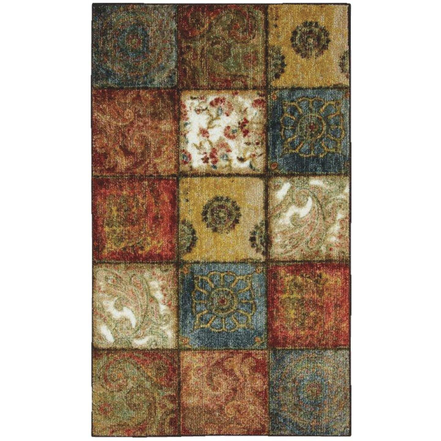 Mohawk Home Artifact Multi-Panel 1 Ft. 8 In. x 2 Ft. 10 In. Accent Rug Image 1