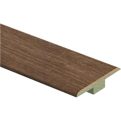 Zamma Old Gray Oak 1-3/4 In. W x 72 In. L T Mold Laminate Floor Transition