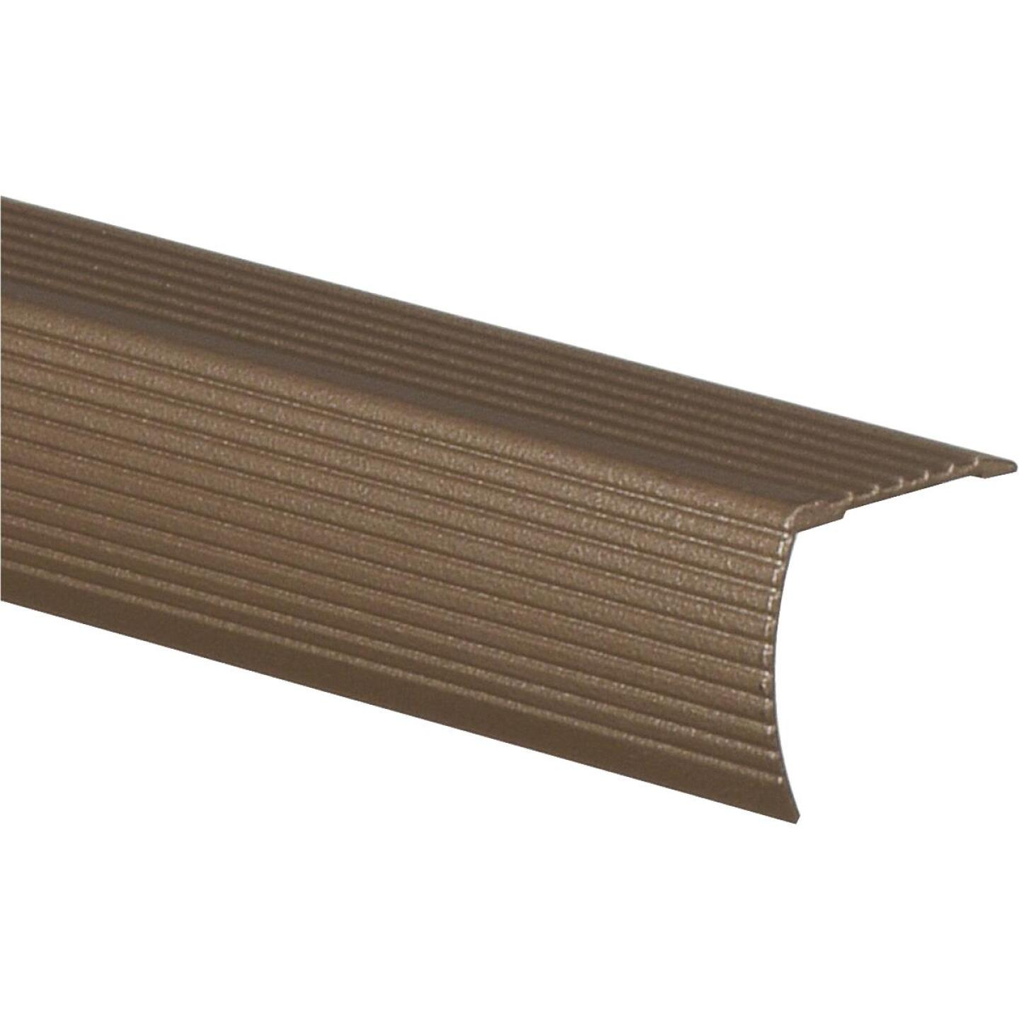 Frost King Satin Cocoa 1-1/8 In. W x 36 In. L Aluminum Stairnose Image 1