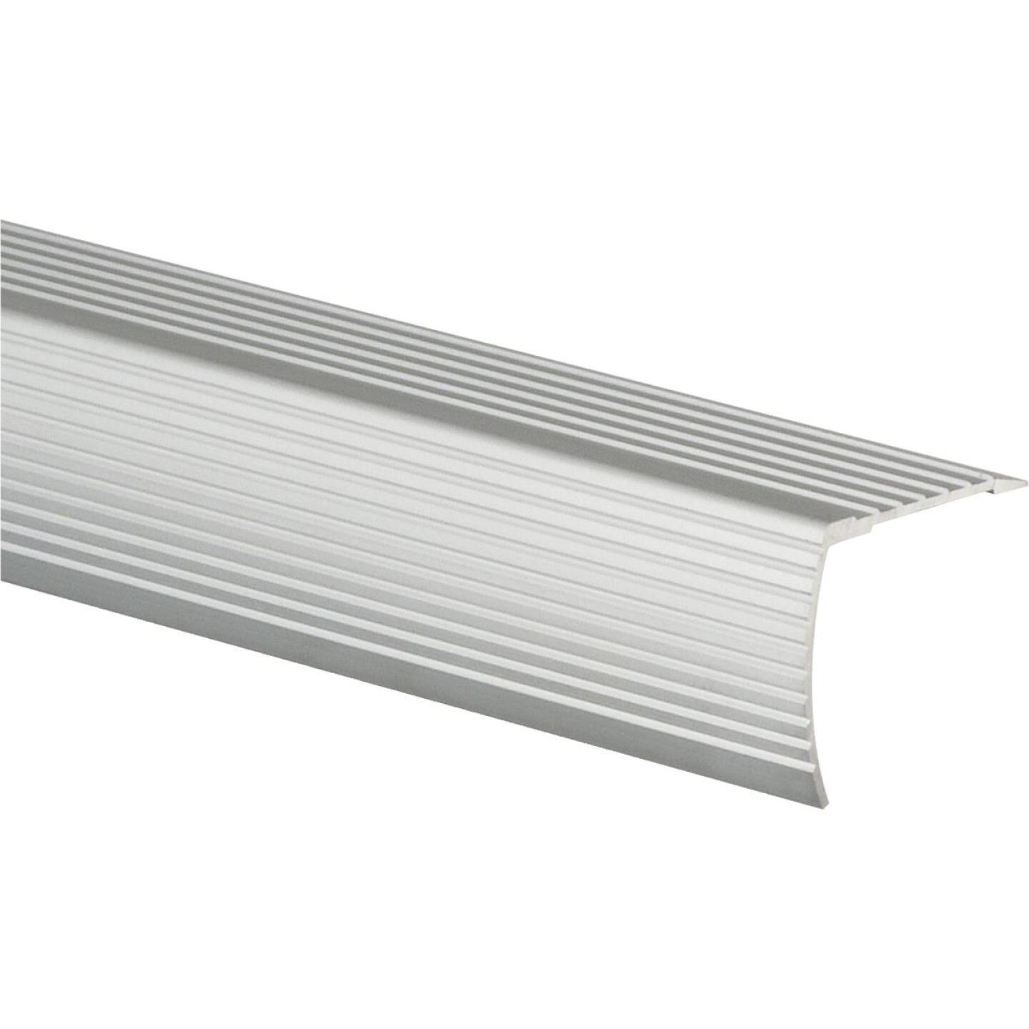 Frost King Satin Silver 1-1/8 In. W x 36 In. L Aluminum Stairnose Image 1