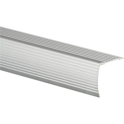 Frost King Satin Silver 1-1/8 In. W x 36 In. L Aluminum Stairnose