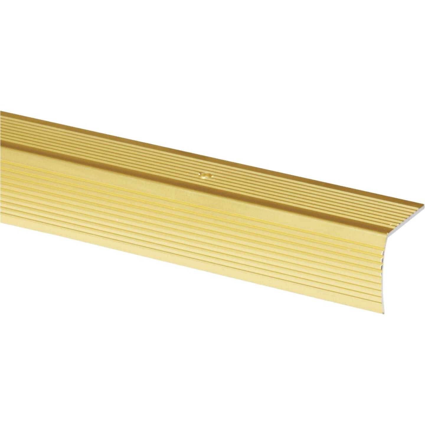 Do it Satin Gold 1-1/8 In. W x 36 In. L Aluminum Stairnose Image 1