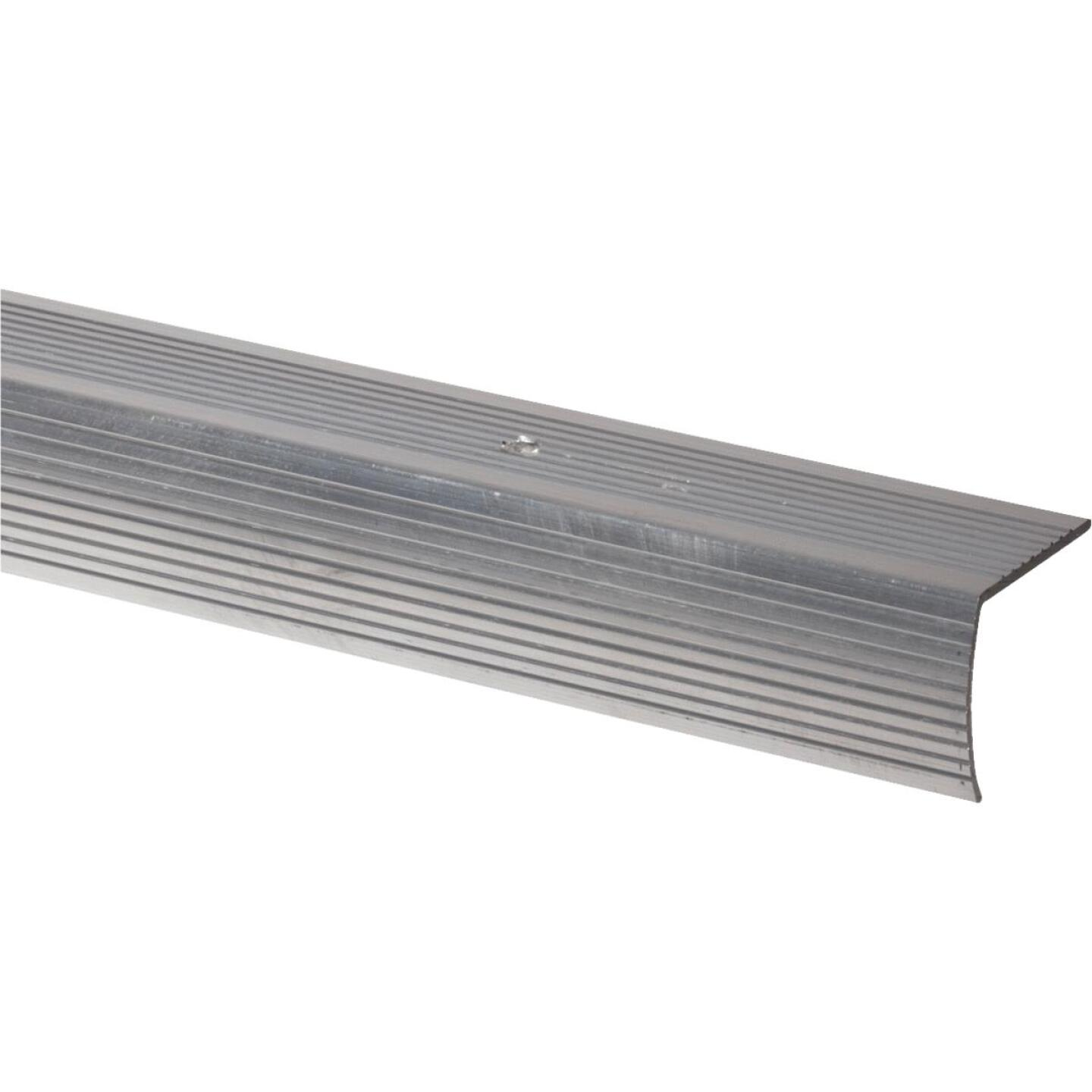 M-D Satin Silver 1-1/8 In. W x 72 In. L Aluminum Stairnose Image 1