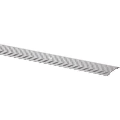 M-D Silver Satin 1-1/4 In. x 6 Ft. Aluminum Seam Binder