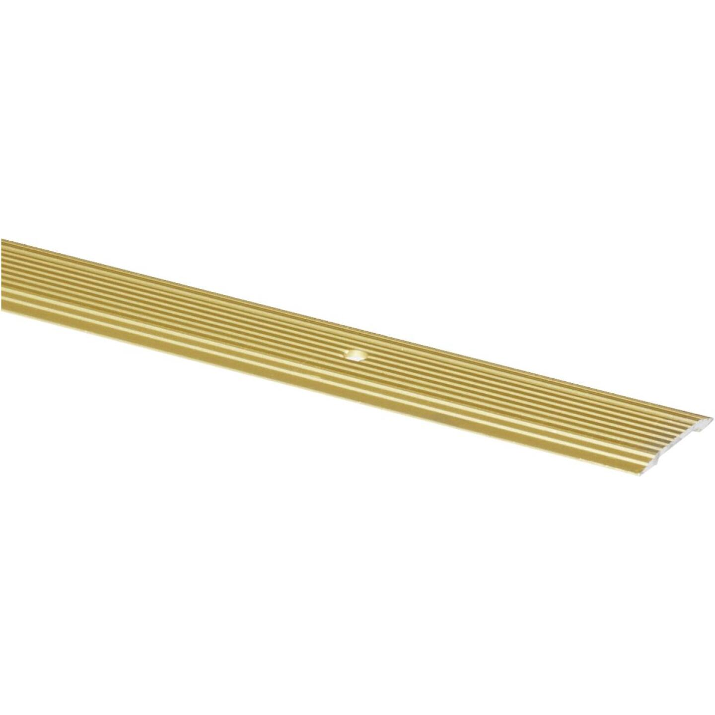 M-D Brass Satin 1-1/4 In. x 6 Ft. Aluminum Seam Binder Image 1