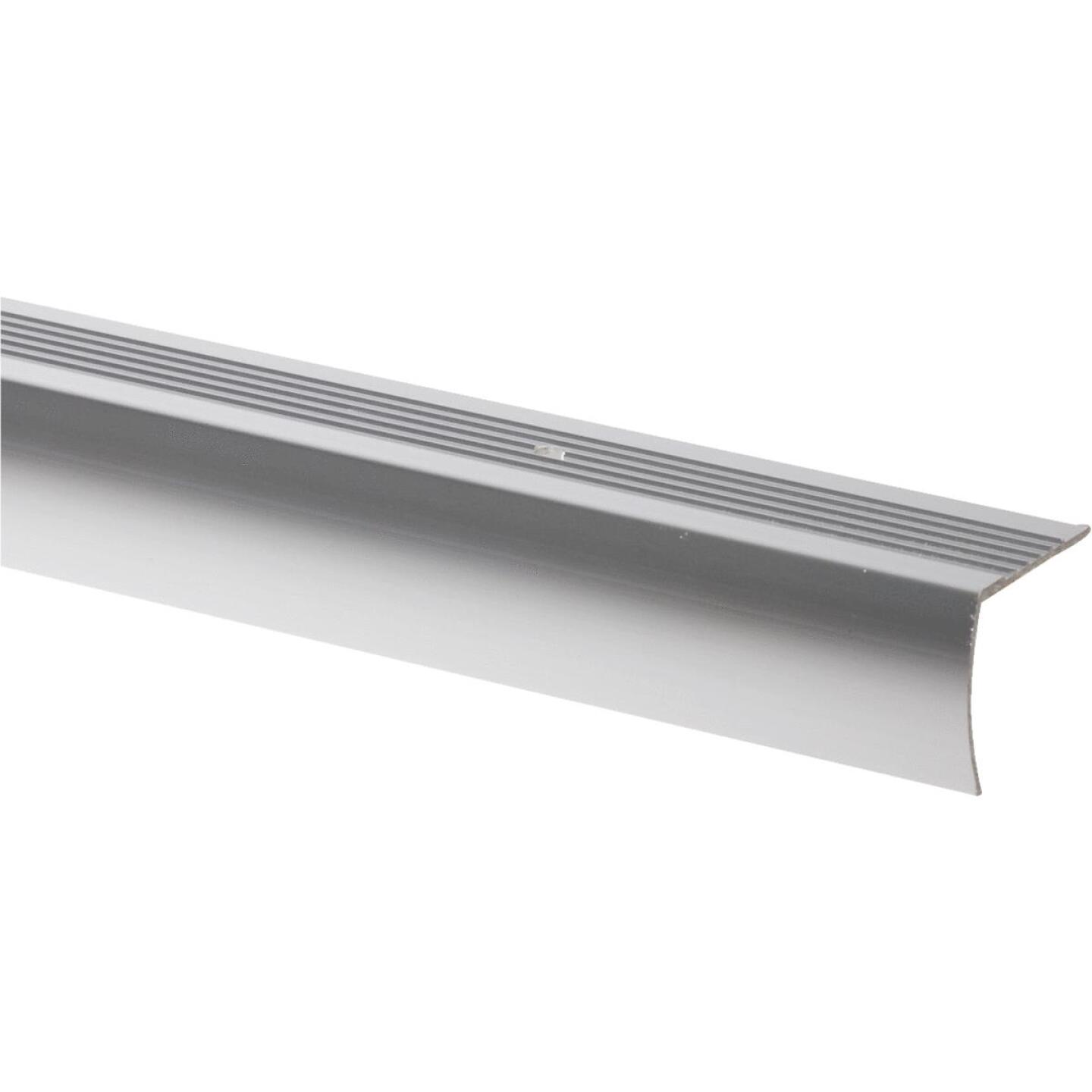 M-D Polished Aluminum 1-1/8 In. W x 36 In. L Aluminum Stairnose Image 1
