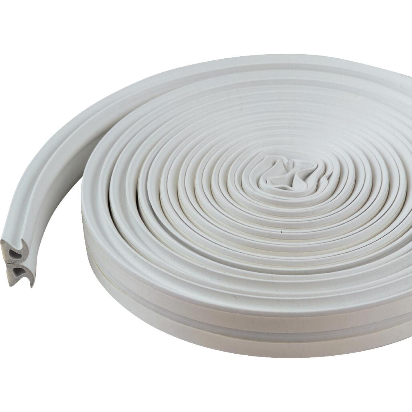 M-D White 17' Rubber Weatherstrip Image 2