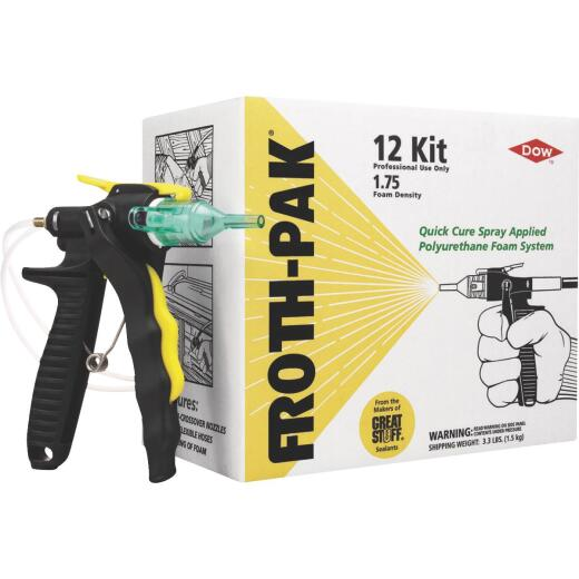 FROTH-PAK 12 Two-Component Polyurethane Foam Sealant Kit
