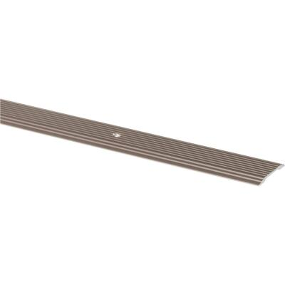 M-D Pewter 1-1/4 In. x 3 Ft. Aluminum Seam Binder