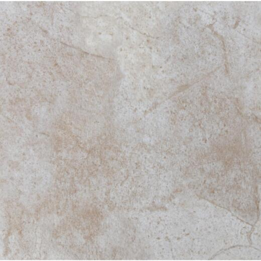 Mohawk Ovations White 14 In. Square DuraCeramic Floor Tile