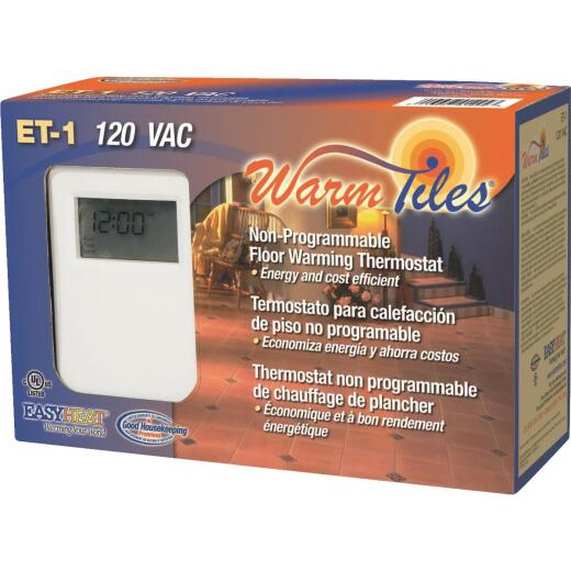 Easy Heat 120V or 240V Thermostat