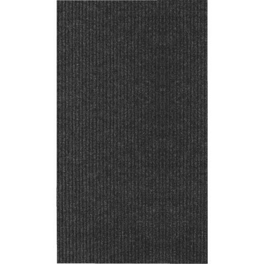 Multy Home Concord 2 Ft. x 5 Ft. Charcoal Carpet Utility Floor Mat, Indoor/Outdoor