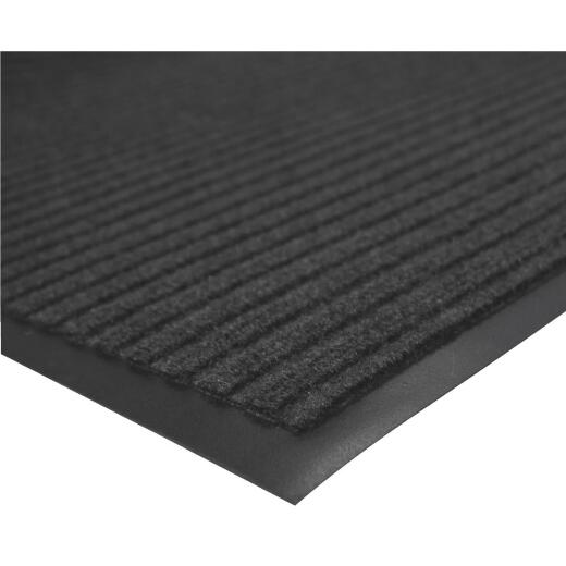 Multy Home Platinum 3 Ft. x 45 Ft. Charcoal Carpet Runner, Indoor/Outdoor