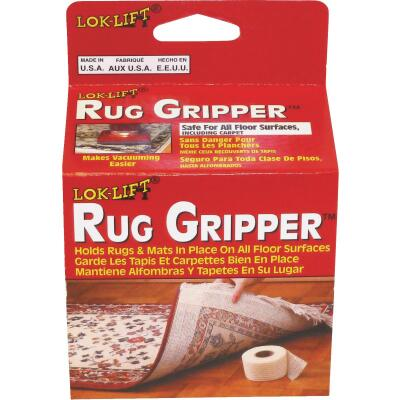 Lok-Lift Rug Gripper 4 In. x 25 Ft. Nonslip Rug Gripper Tape