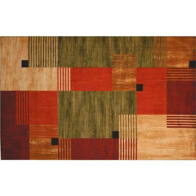 Mohawk Home Alliance Multi-Color 5 Ft. x 8 Ft. Area Rug