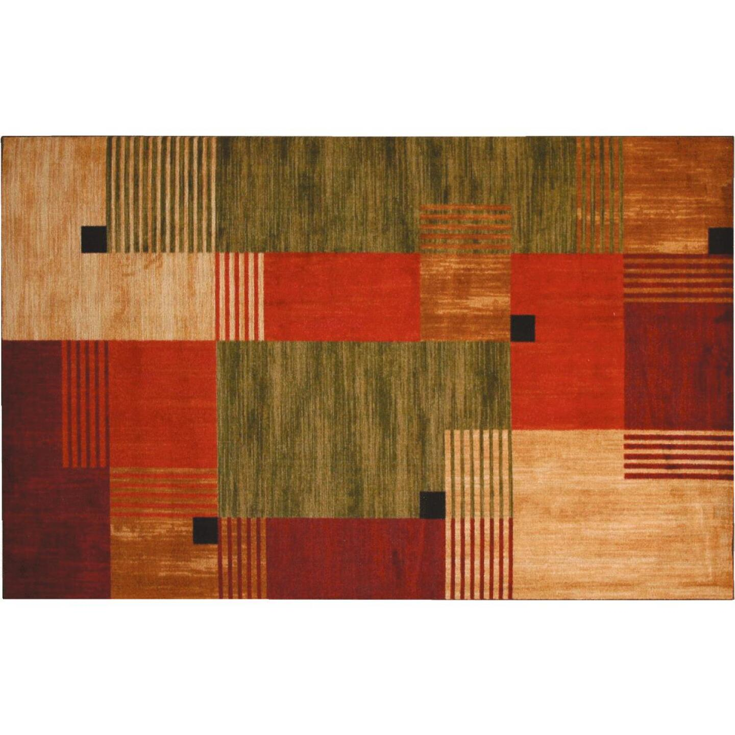 Mohawk Home Alliance Multi-Color 2 Ft. 6 In. x 3 Ft. 10 In. Accent Rug Image 1