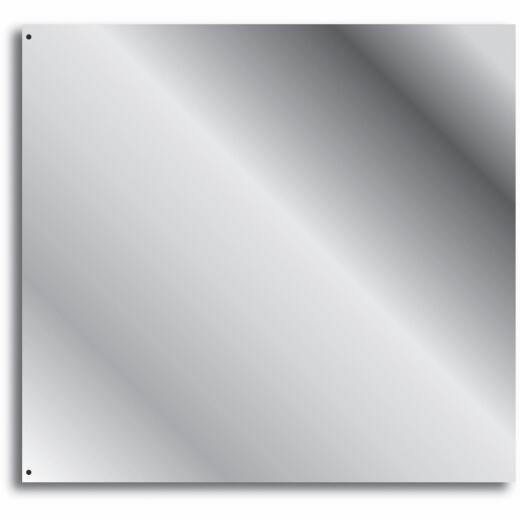 Broan-Nutone 24 In. x 30 In. Stainless Steel Backsplash Panel, Silver