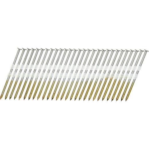 Senco 20 Degree Plastic Strip Bright Full Round Head Framing Stick Nail, 3 In. x .131 In. (4000 Ct.)