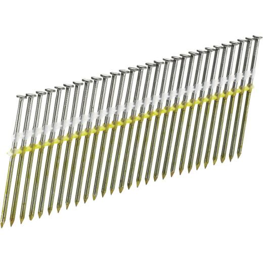 Senco 20 Degree Plastic Strip Hot-Dipped Galvanized Full Round Head Framing Stick Nail, 3 In. x .131 In. (2500 Ct.)