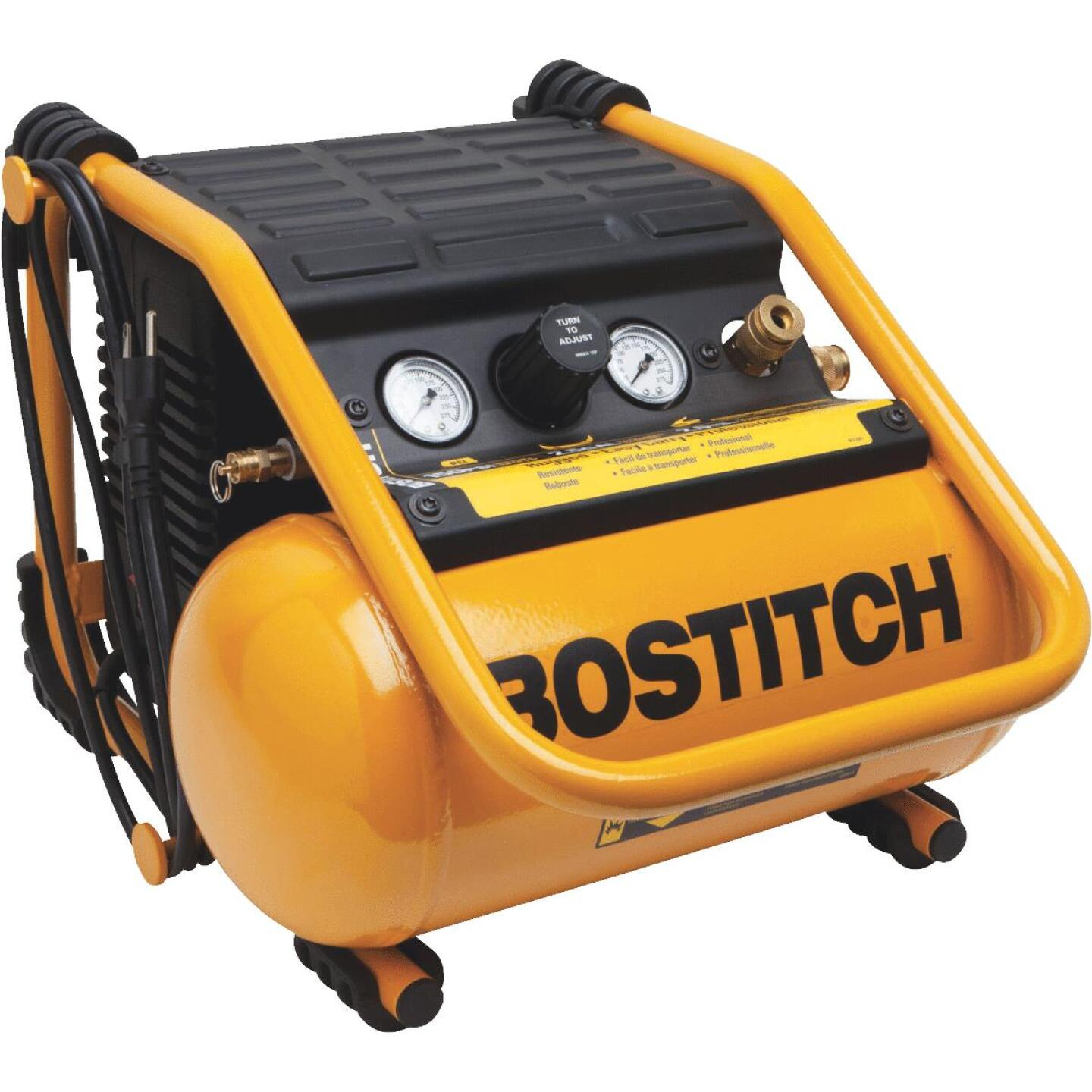 Bostitch 2.5 Gal. Portable 150 psi Suitcase Style Air Compressor Image 1