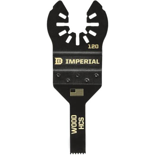 Imperial Blades One Fit 3/8 In. High Carbon Steel Detail Oscillating Blade