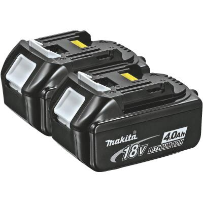 Makita 18 Volt LXT Lithium-Ion 4.0 Ah Tool Battery (2-Pack)