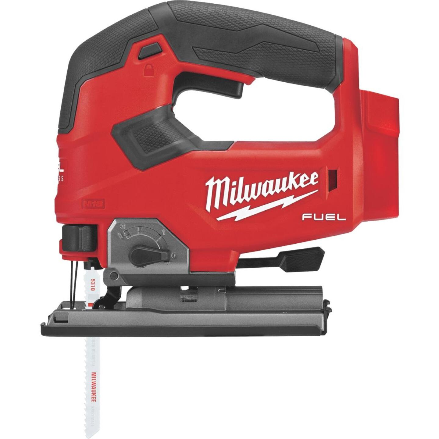 Milwaukee M18 FUEL 18 Volt Lithium-Ion Brushless Cordless Jig Saw (Bare Tool) Image 1