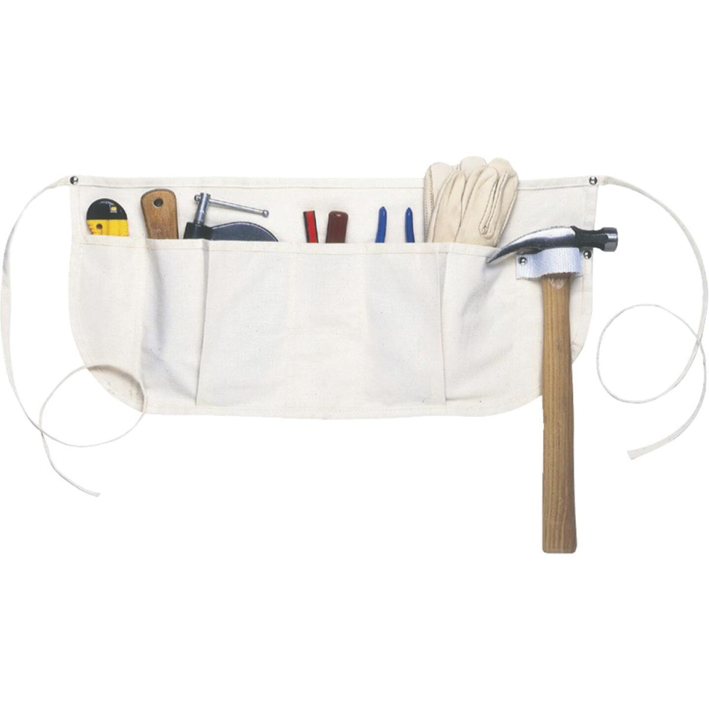 Custom Leathercraft 5-Pocket Canvas Nail Apron Image 1