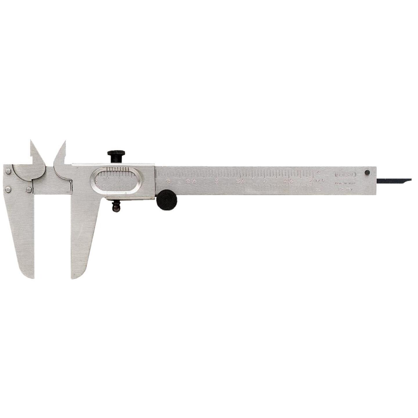 General Tools 5 In. Fractional Vernier Caliper Image 1