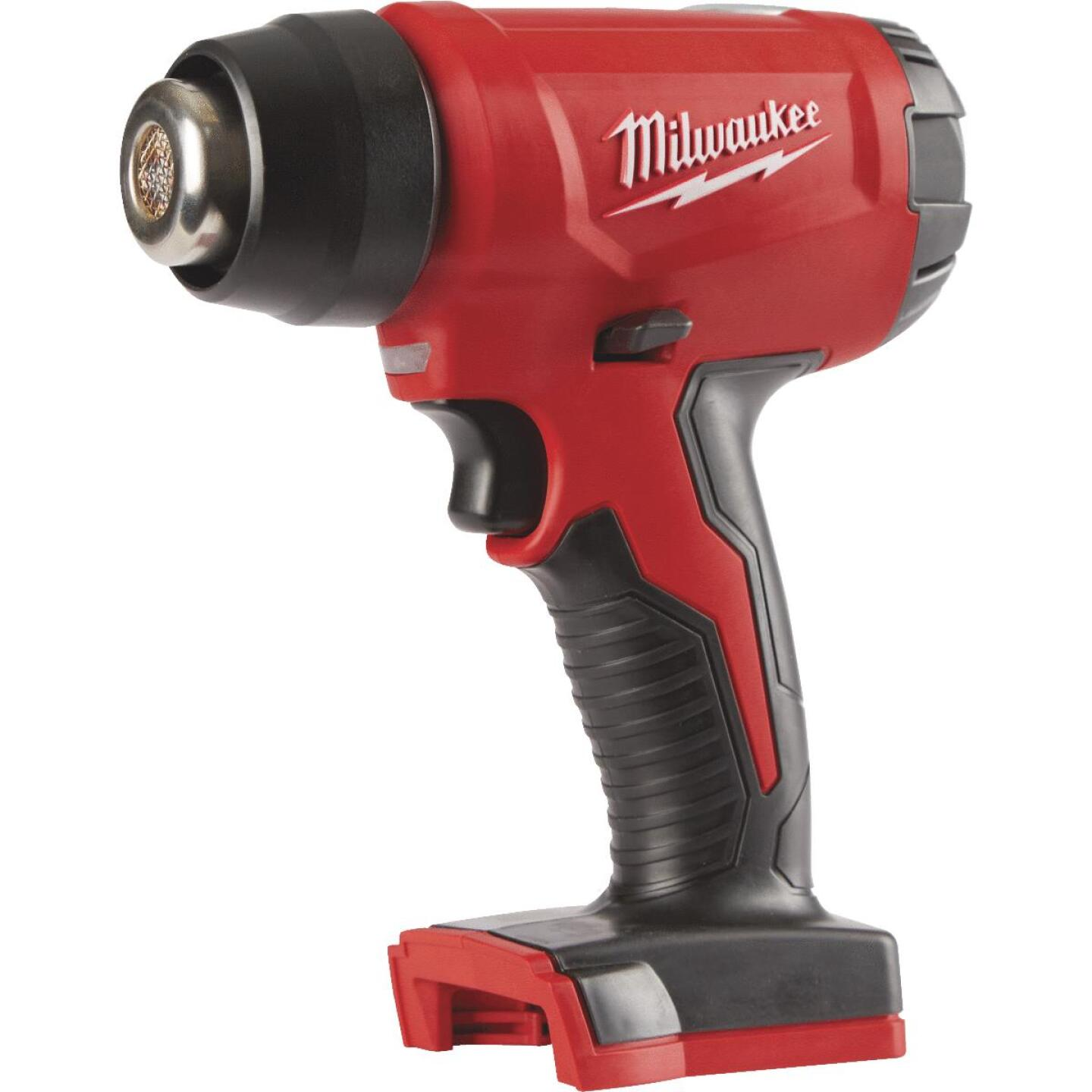 Milwaukee M18 18 Volt Lithium-Ion Compact Cordless Heat Gun (Bare Tool) Image 1